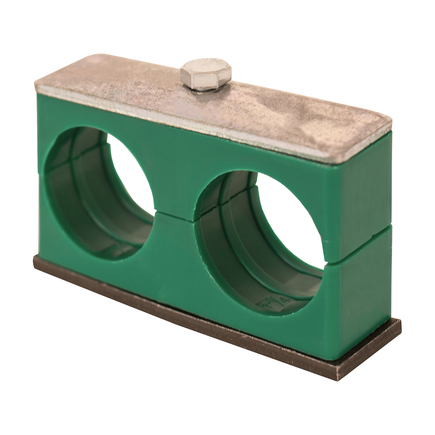 Buyers Products TSCP100 - Twin Series Clamp For Pipe 1 Inch I.D.