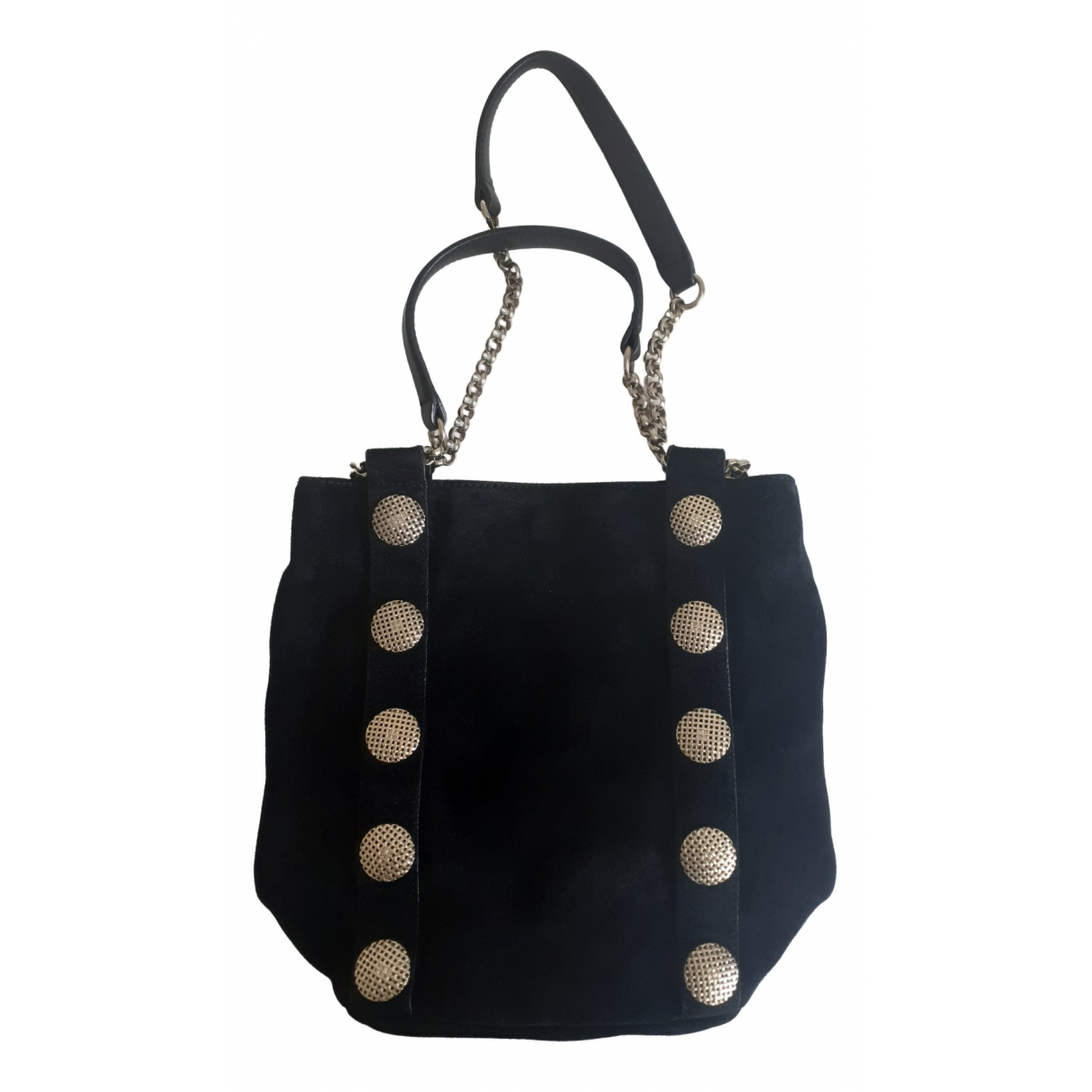 Reiss \N Black Suede handbag for Women \N