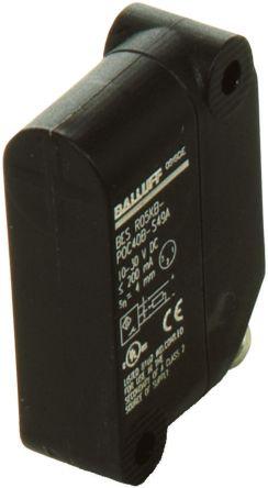 BALLUFF Inductive Sensor - Block, PNP-NO Output, 4 mm Detection, IP67, M8 - 3 Pin Terminal