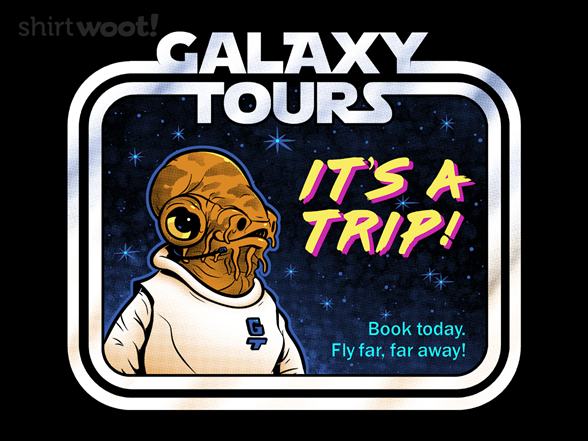 Galaxy Tours T Shirt
