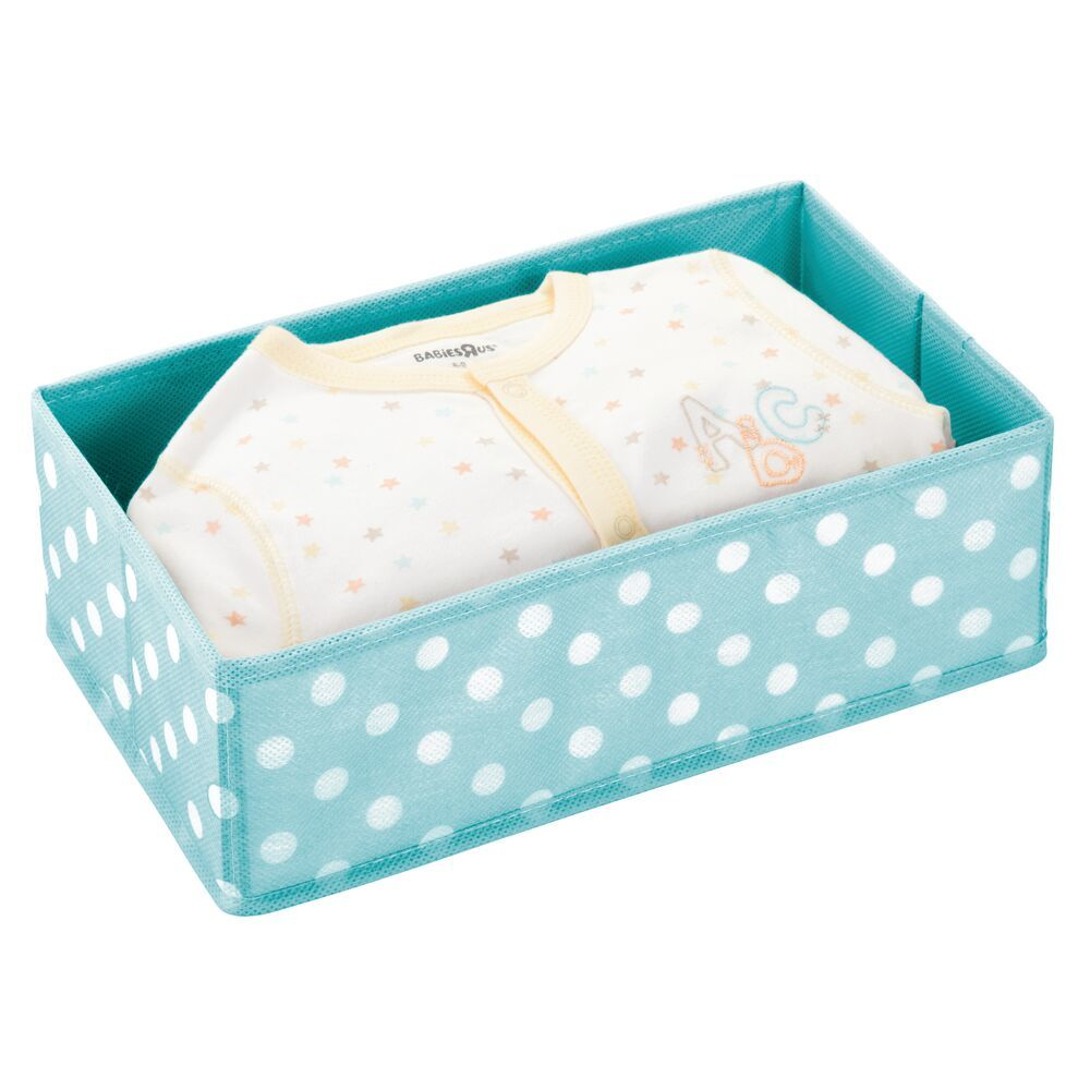 Fabric Polka Dot Drawer Organizer, by mDesign