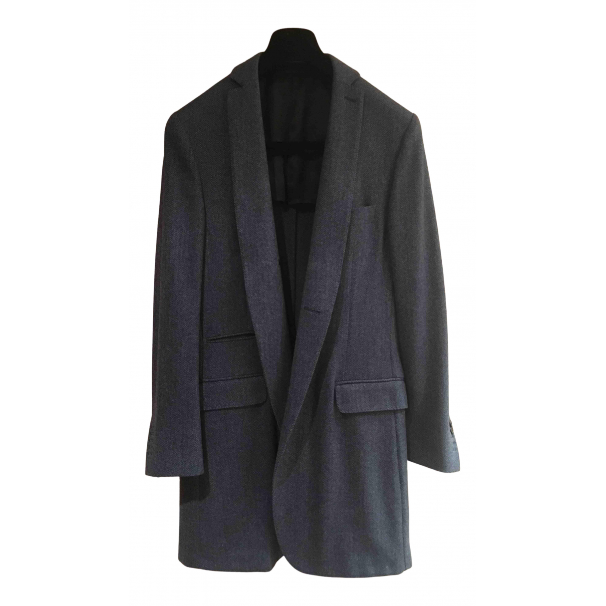 Non Signé / Unsigned \N Wool coat  for Men L International