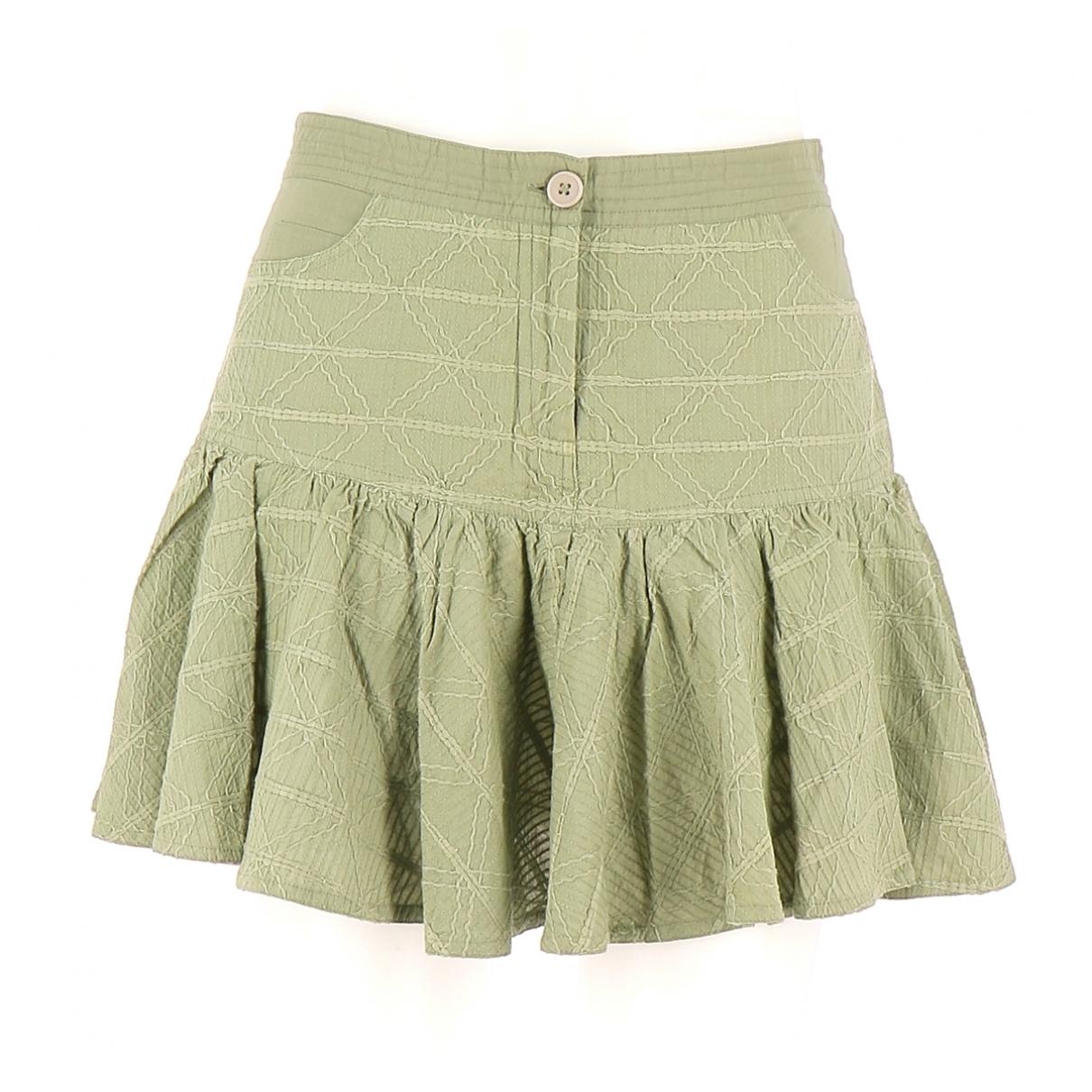 Vanessa Bruno Athe \N Khaki Cotton skirt for Women 34 FR