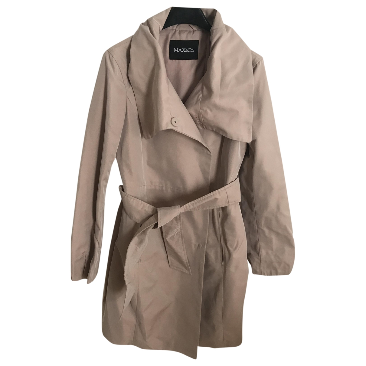 Max & Co \N Pink Trench coat for Women 36 FR