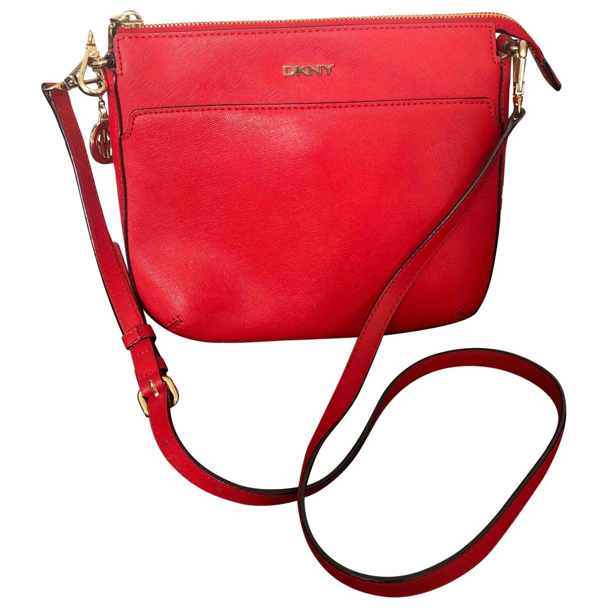 Dkny \N Red Leather handbag for Women \N