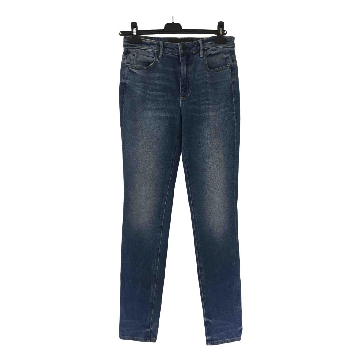 Alexander Wang \N Blue Cotton - elasthane Jeans for Women 27 US