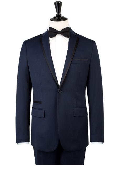 Kurt & Kross Blue Fashion Tuxedo