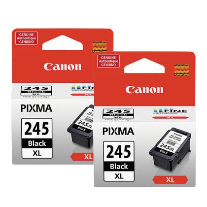 Canon PG245XL 8278B001 cartouche d'encre originale noire haute capacité double pack