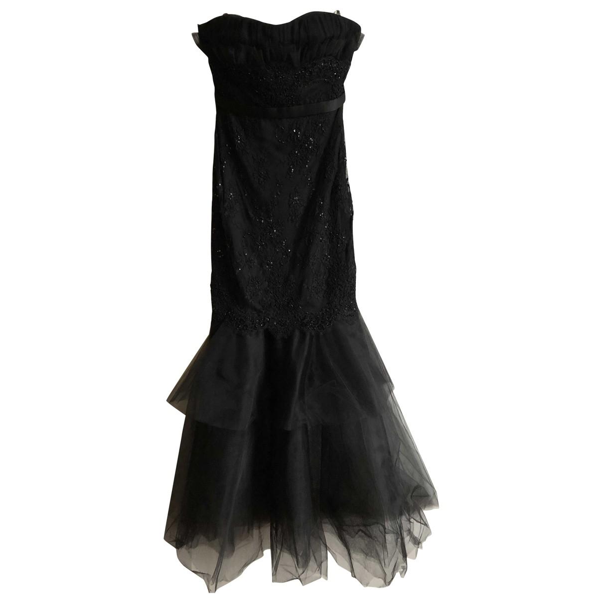 Marchesa Notte \N Black Glitter dress for Women 6 US