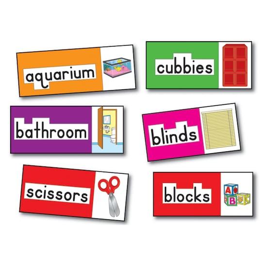 Carson-Dellosa™ Print-Rich Classroom Labels Bulletin Board, English By Carson Dellosa | Michaels®