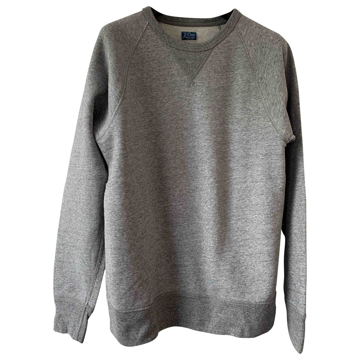 J.crew \N Grey Cotton Knitwear & Sweatshirts for Men S International