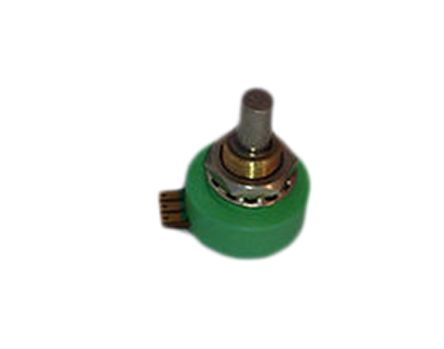 RS PRO 1 Gang Rotary Conductive Plastic Potentiometer with an 6 mm Dia. Shaft - 1kΩ, ±20%, 1W Power Rating, Linear,
