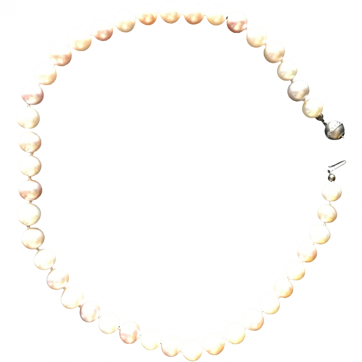 Non Signé / Unsigned Nacre Pink Pearls necklace for Women \N