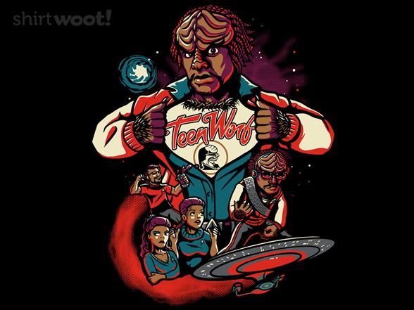 Teen Worf T Shirt