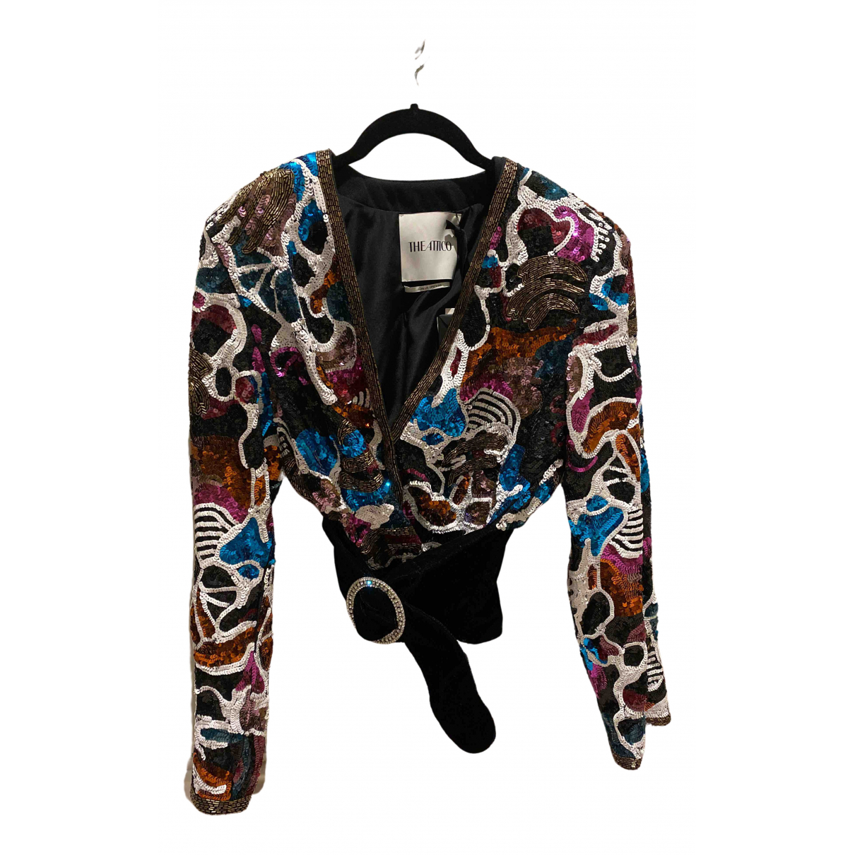 Attico \N Multicolour Glitter jacket for Women 38 IT