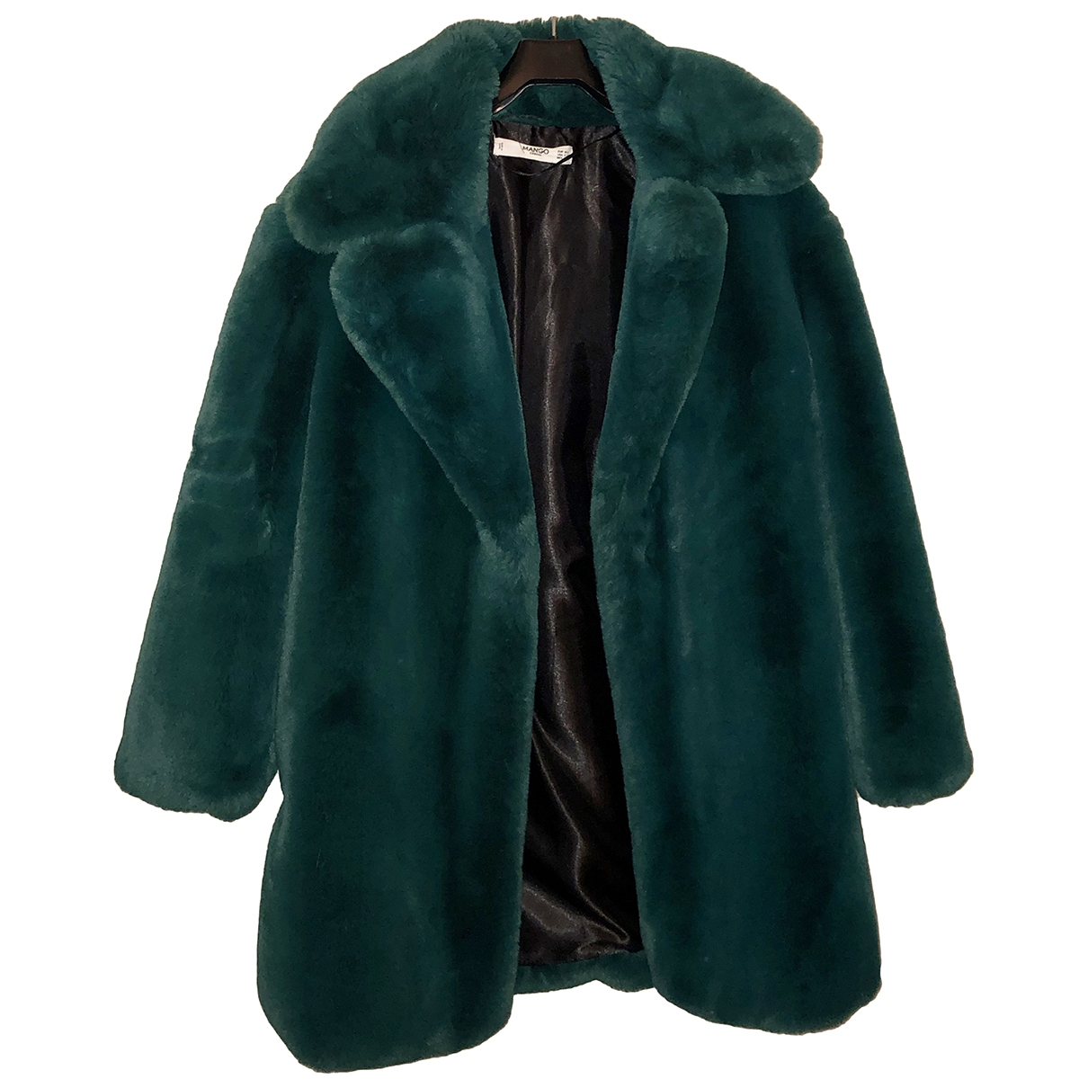 Mango \N Green coat for Women M International