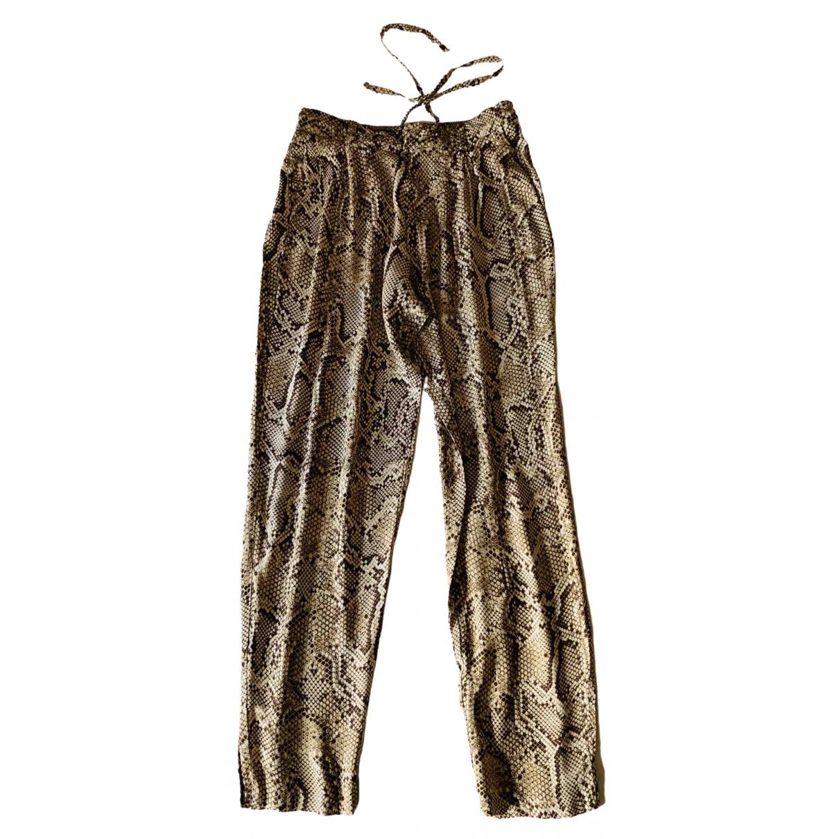 Zara \N Multicolour Trousers for Women XS International