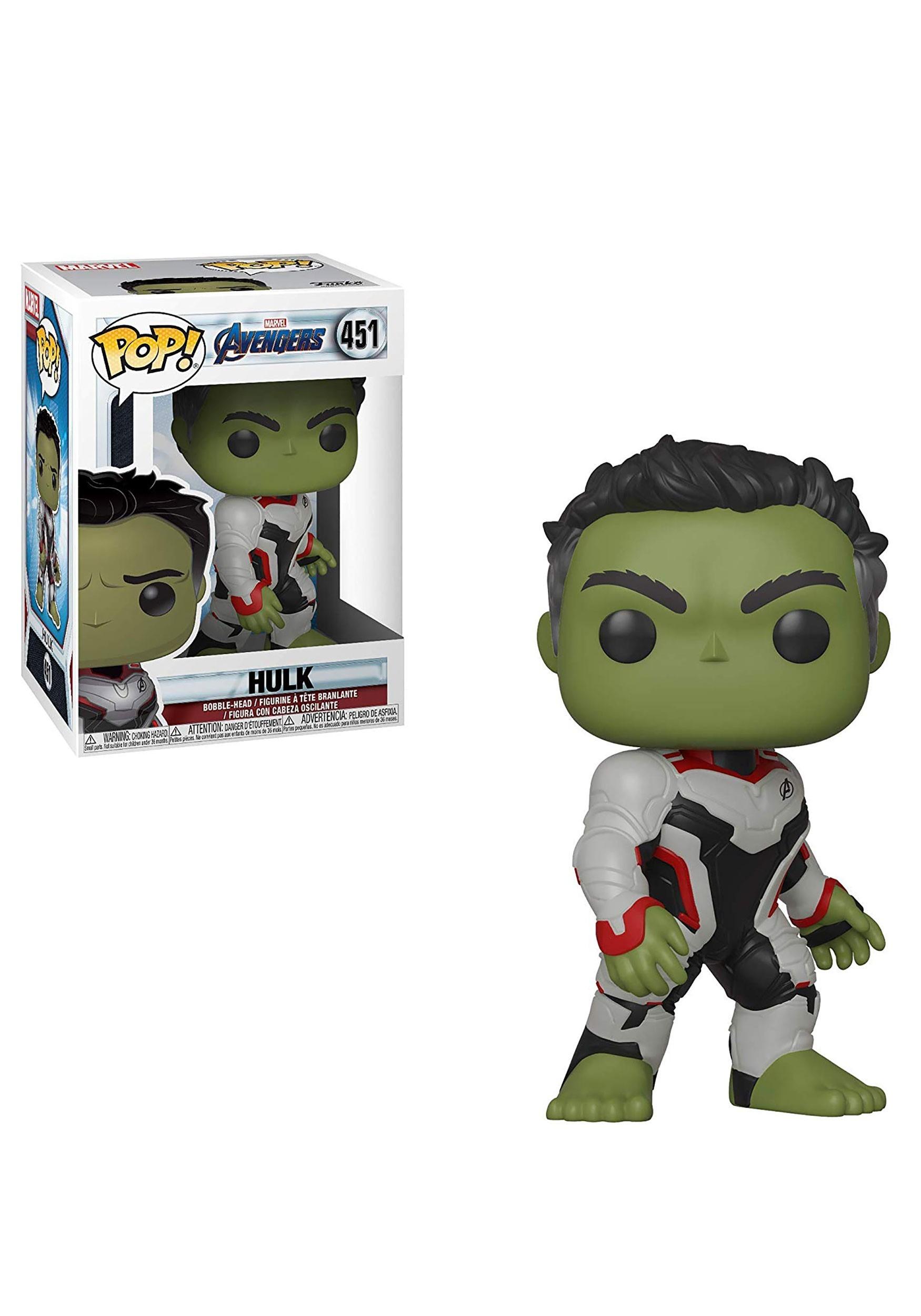 Pop! Marvel: Avengers: Endgame Hulk Collectible Figure