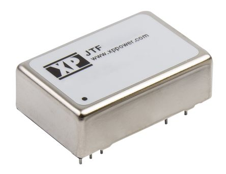 XP Power JTF 10W Isolated DC-DC Converter Through Hole, Voltage in 9 → 36 V dc, Voltage out ±15V dc