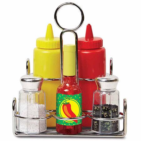 Melissa & Doug Condiments Set, One Size , Multiple Colors
