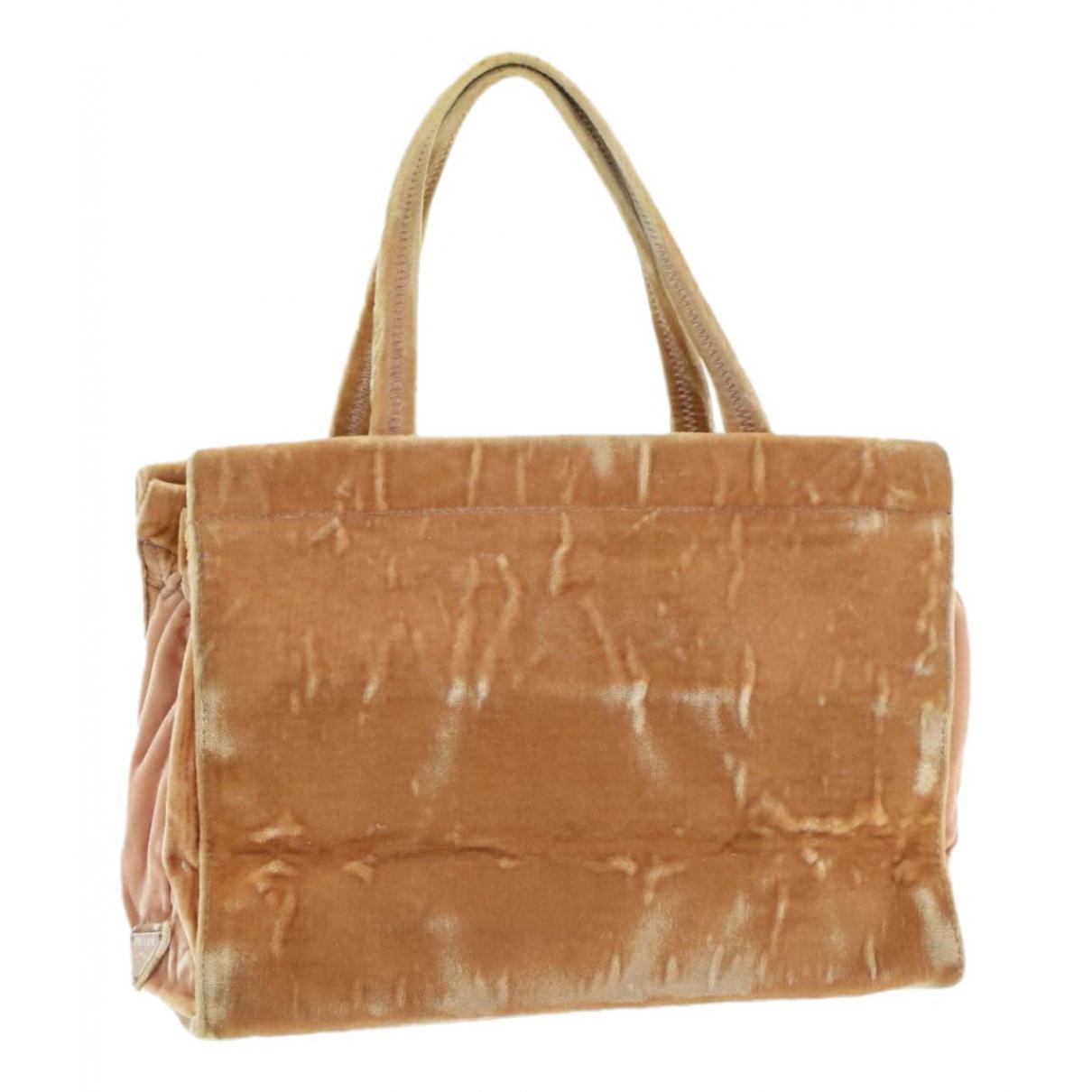 Prada \N Pink Suede handbag for Women \N