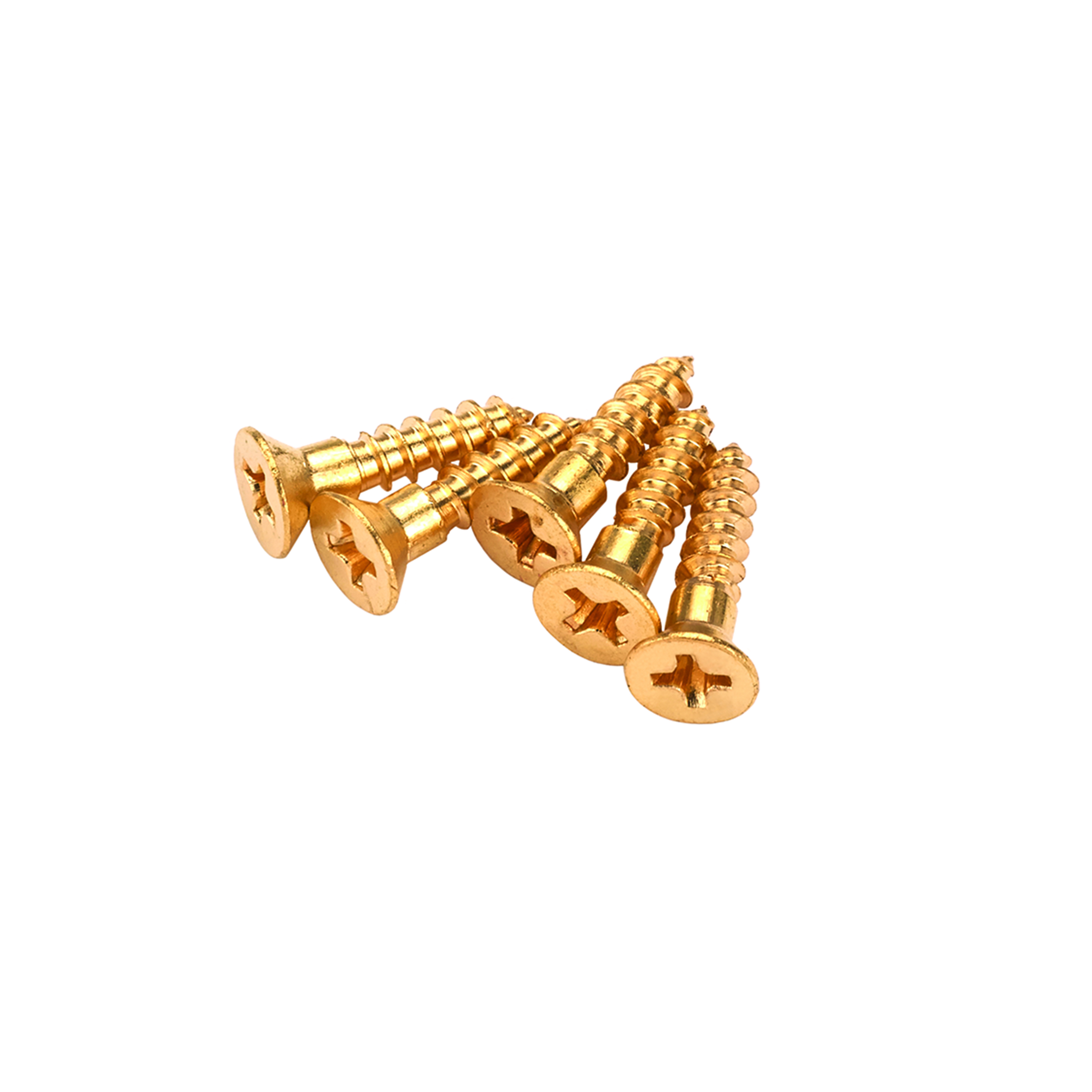 Solid Brass Screws #1 x 1/2