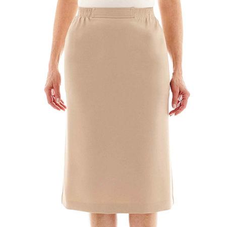 Alfred Dunner Skirt, 10 , Beige