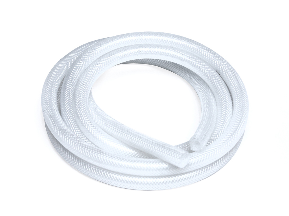 HPS High Temp 3/4 ID (19mm) Reinforced Silicone Heater Hose Clear - Sold per Feet