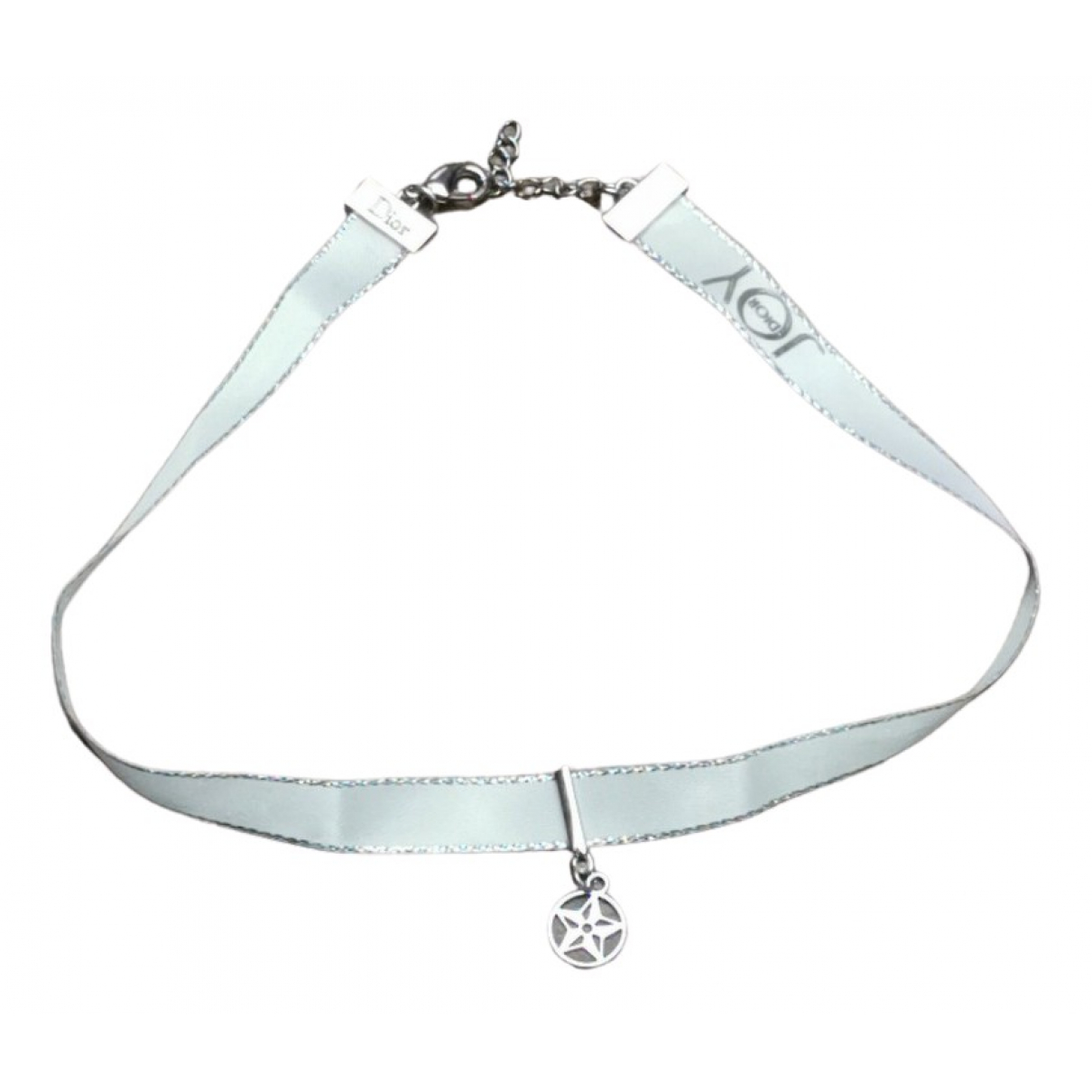 Dior \N White Cloth necklace for Women \N