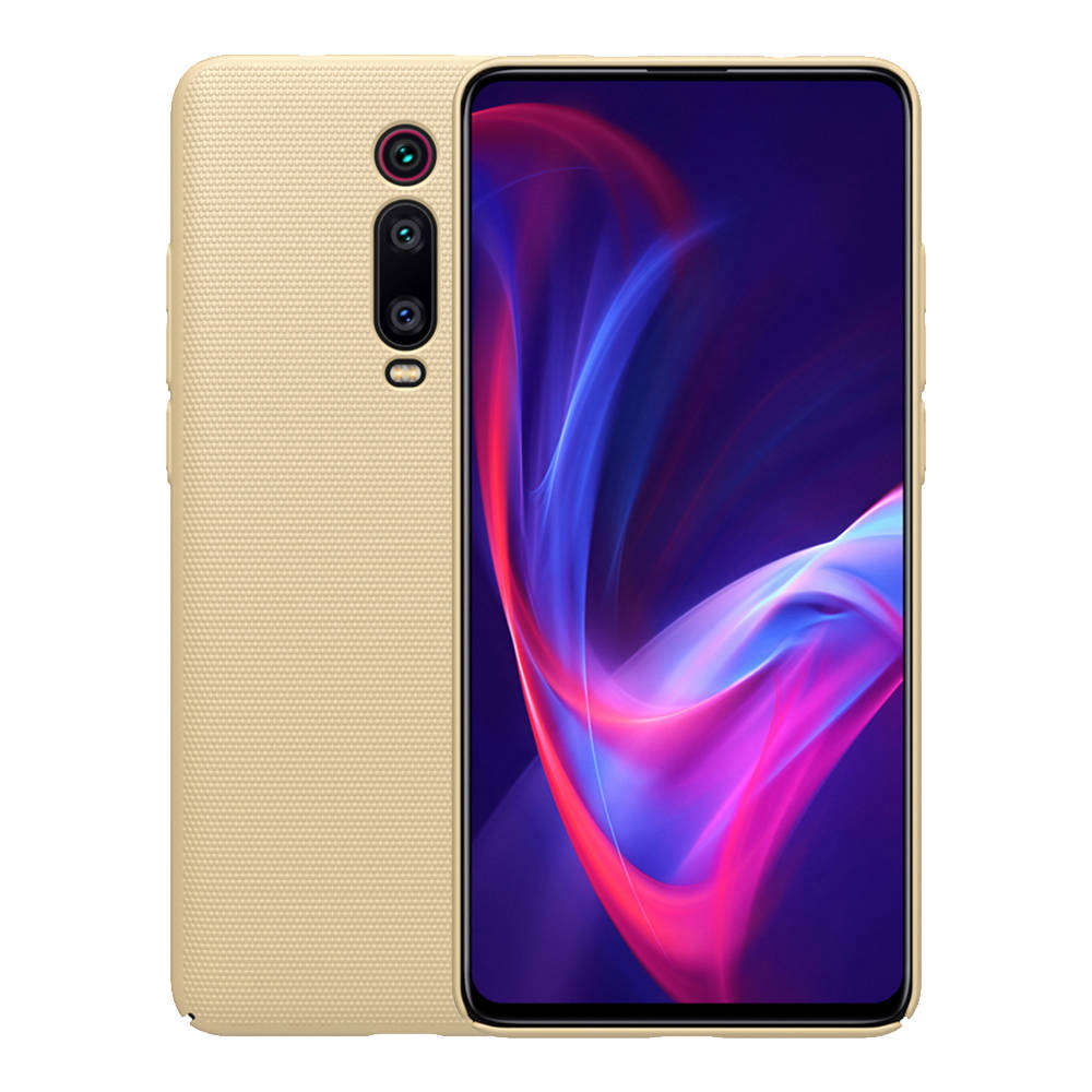 NILLKIN Matte Hard Phone Case for Xiaomi Redmi K20 / K20 Pro Protective Back Cover - Gold