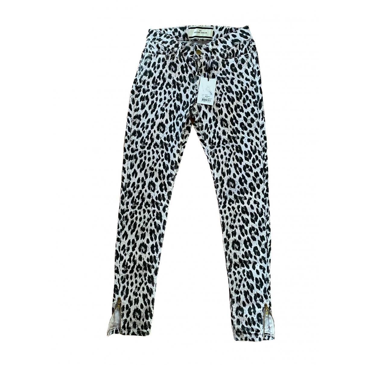 By Malene Birger \N Pink Cotton Jeans for Women 32 FR