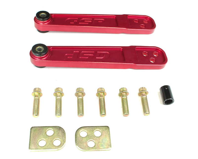 Godspeed Project AK-076-RED Gen2 Rear Lower Control Arm Red Acura RSX 02-06