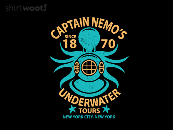 Underwater Tours T Shirt