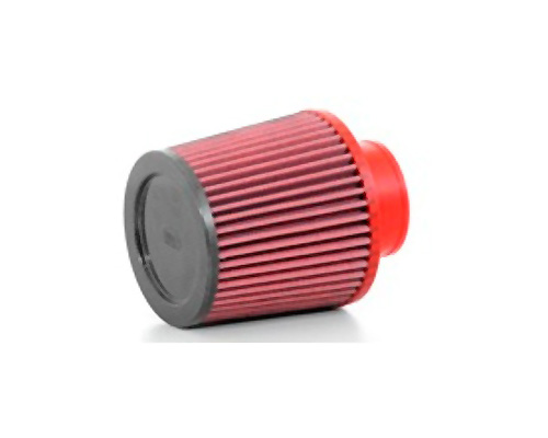 BMC Single Air Universal Conical Filter w/Carbon Top - 70mm Inlet / 140mm H