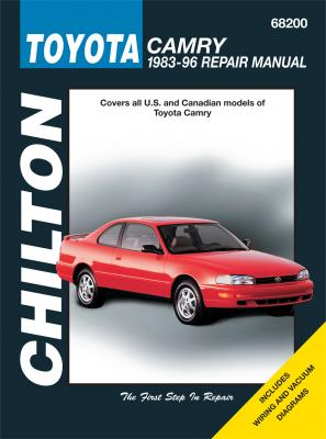 Toyota Camry Chilton Repair Manual covering all models for 1983-96