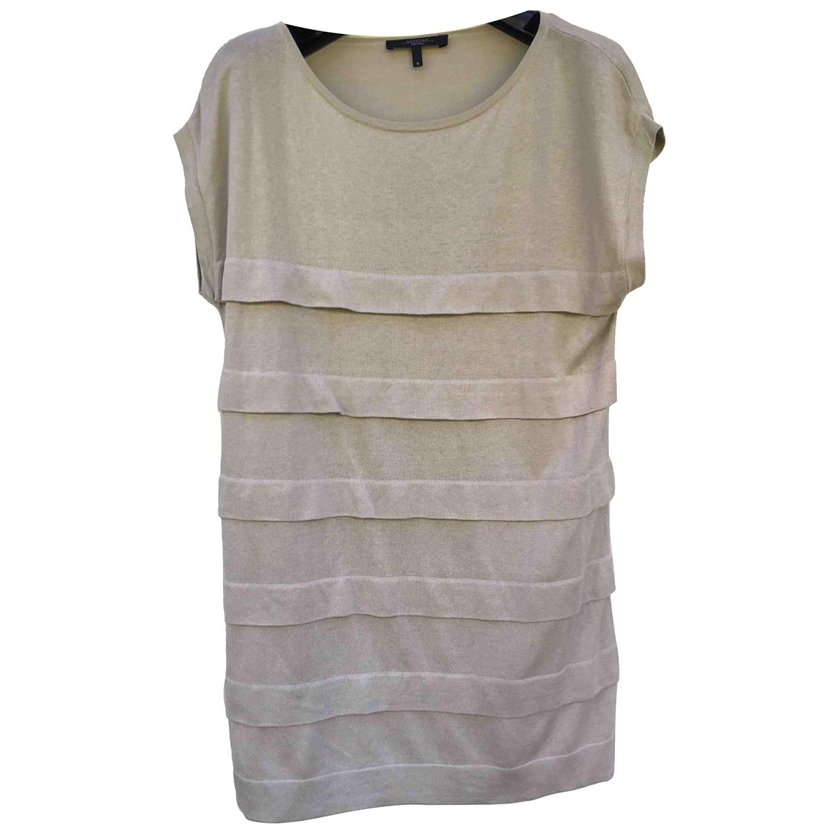 Max Mara Weekend \N Beige Silk dress for Women 38 FR