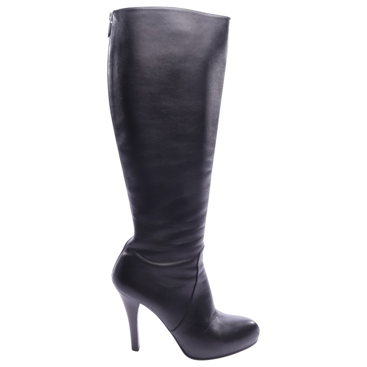 Bottega Veneta \N Black Leather Boots for Women 40 EU