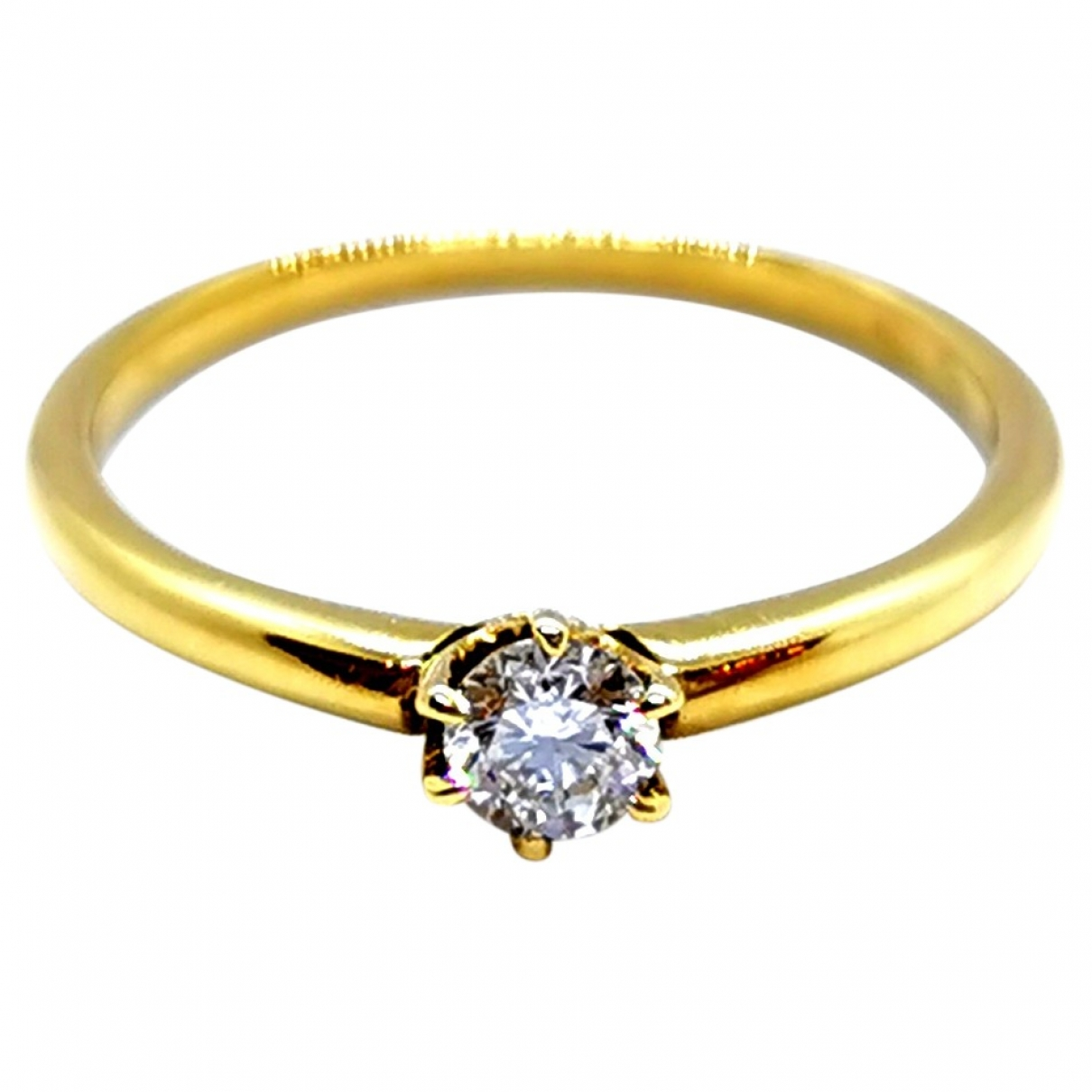 Autre Marque \N Gold Yellow gold ring for Women 49 MM