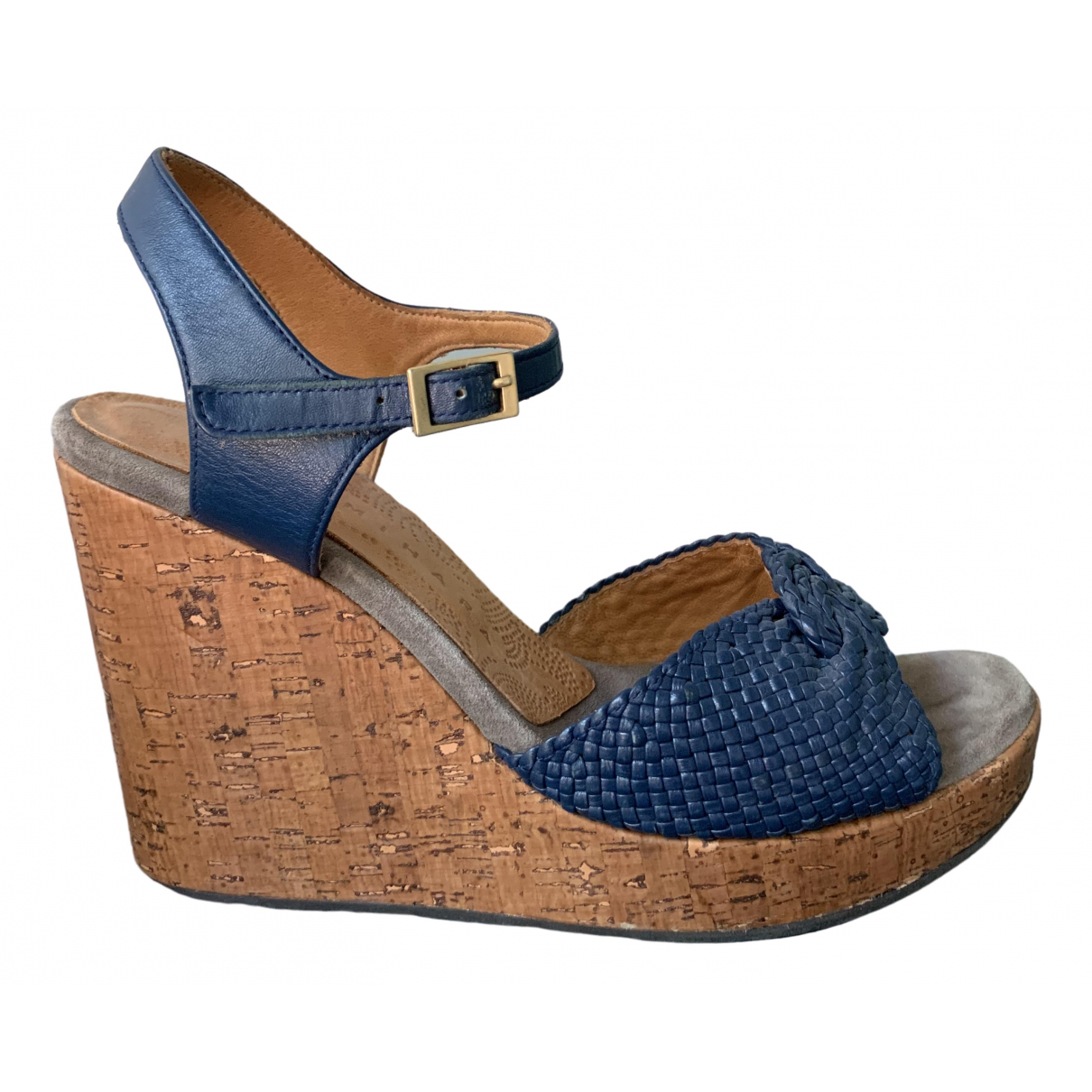 Chie Mihara \N Blue Leather Sandals for Women 40 EU