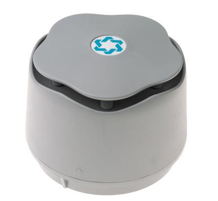 Hosiden Besson Banshee Grey 32 Tone Electronic Sounder ,9 → 30 V dc, 110dB at 1 Metre, IP45