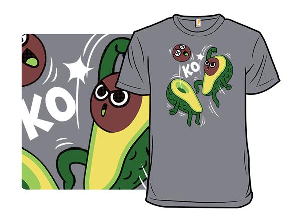 Avocado Fight T Shirt