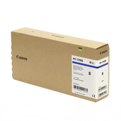 Canon PFI-1700 0784C001AA cartouche d'encre originale bleu pigment