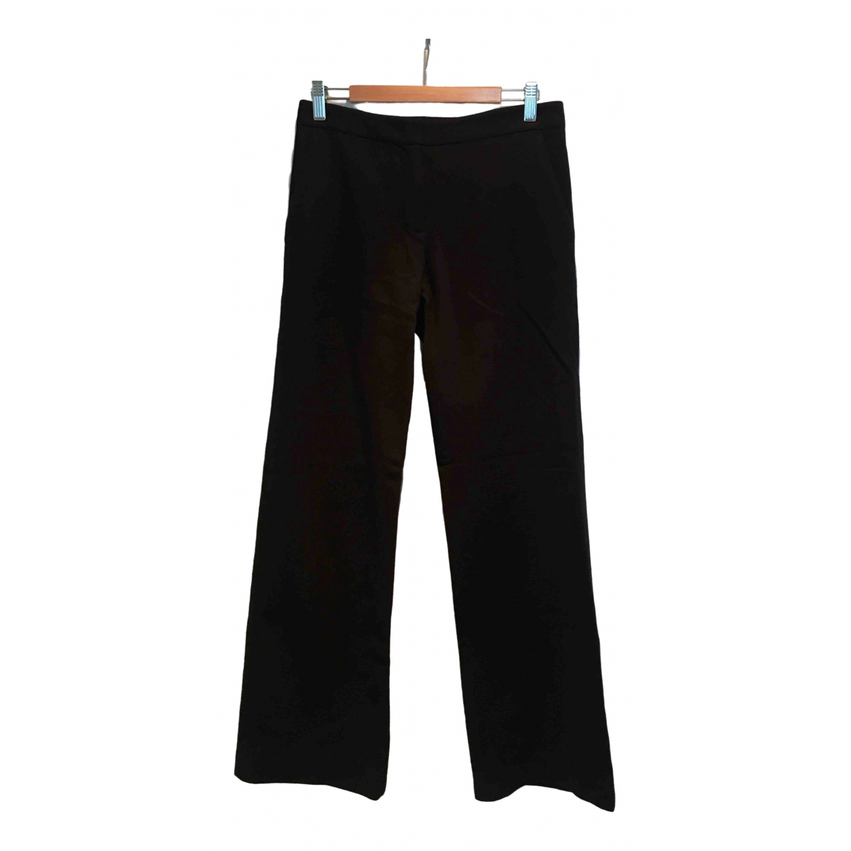 Jigsaw \N Navy Wool Trousers for Women 8 UK