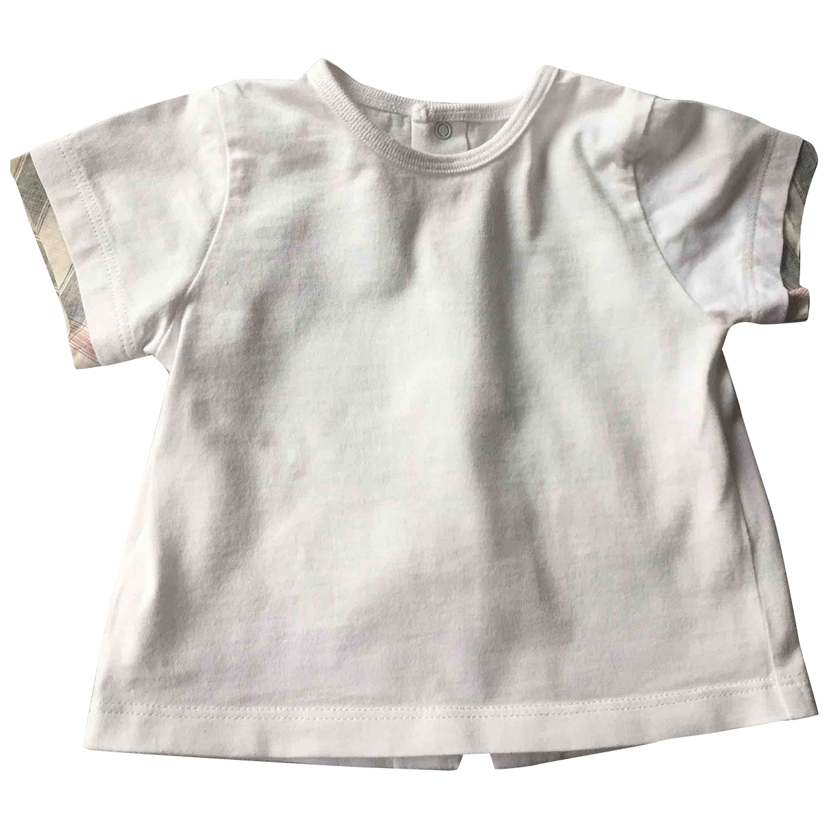 Burberry \N White Cotton  top for Kids 3 months - up to 60cm FR