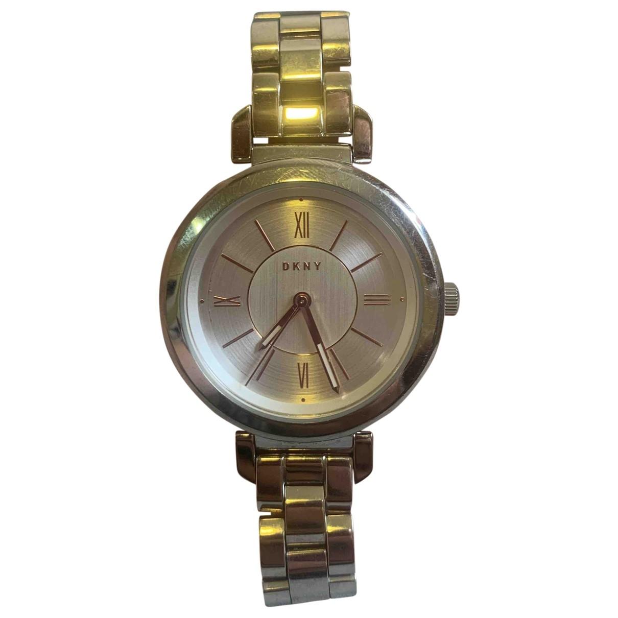 Dkny \N Grey Steel watch for Women \N