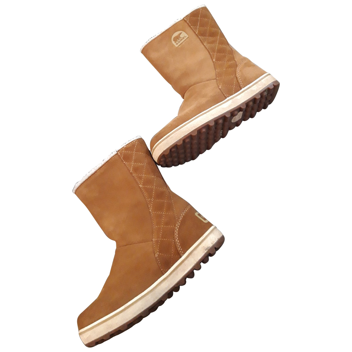 Sorel \N Camel Suede Ankle boots for Women 37 EU