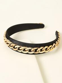 Chain Decor Hair Hoop
