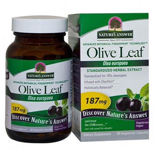 Oleopein Olive Leaf Standardized 60 Vcaps by Nature's Answer