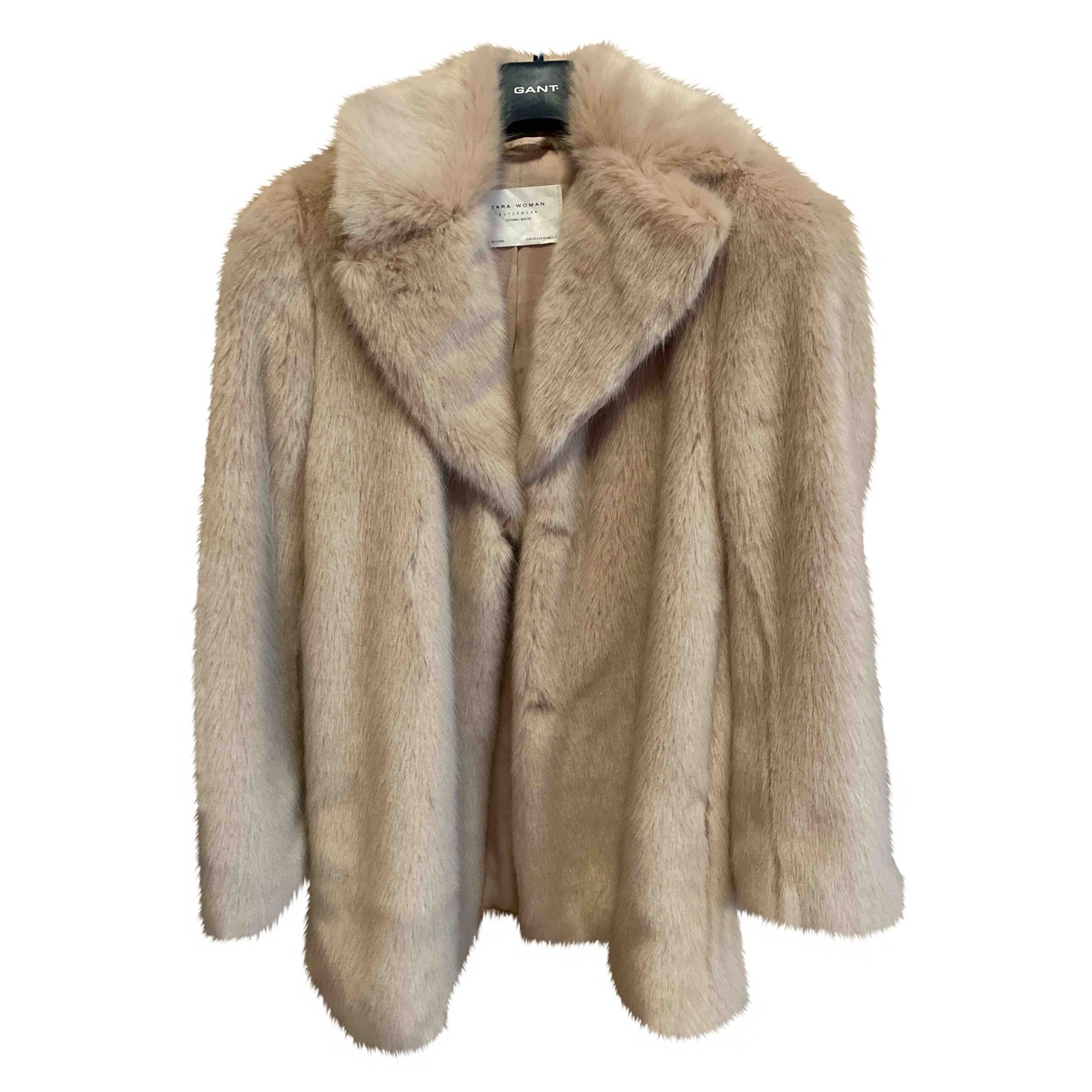 Zara \N Pink Faux fur coat for Women XS International