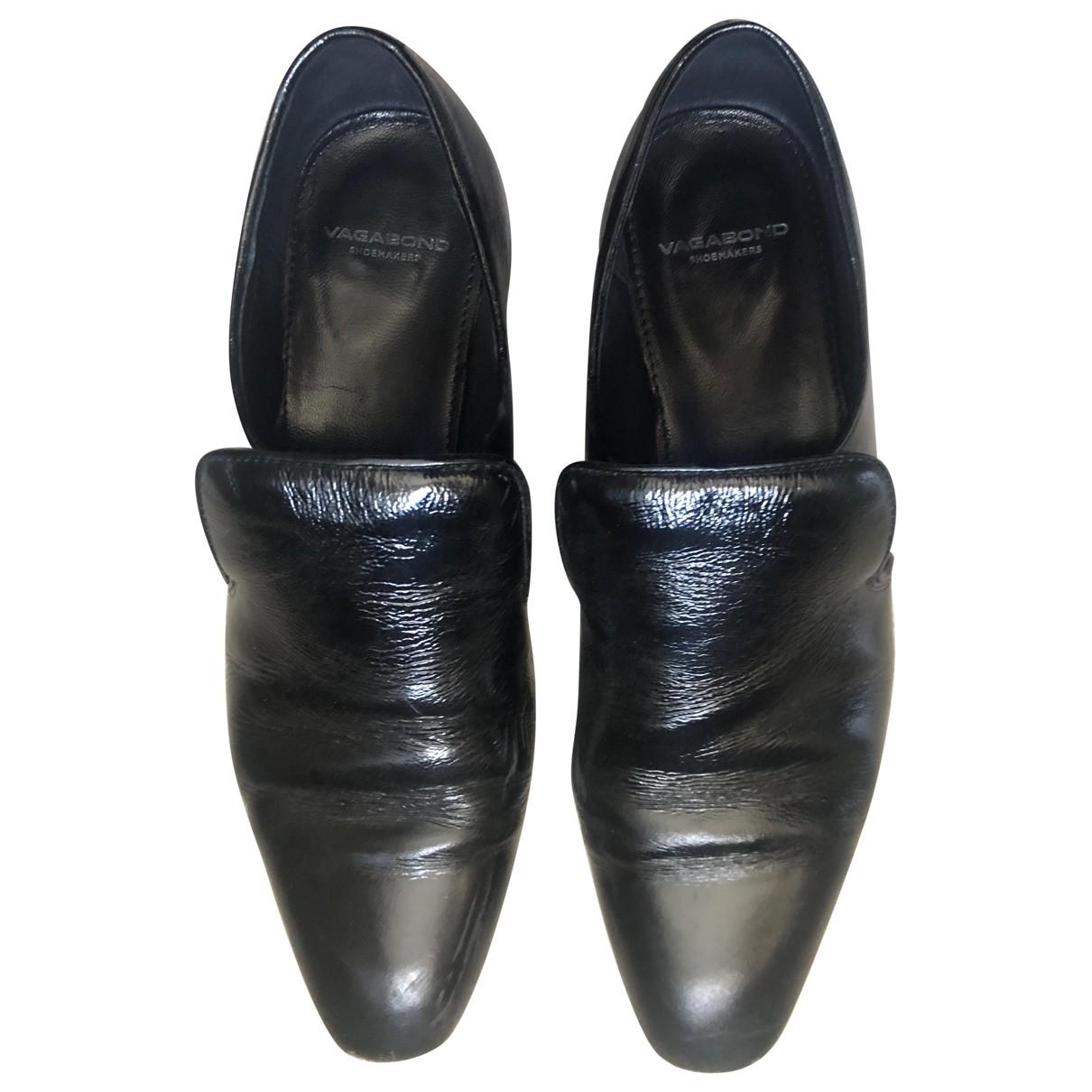 Vagabond \N Black Patent leather Flats for Women 39 EU